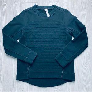 Lululemon fleece be true crew neck sweatshirt